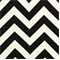 Zig Zag Ebony Indoor/Outdoor Fabric by Premier Prints - Order a Swatch