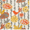 Menagerie Citrus Indoor/Outdoor Fabric by Premier Prints  30 yard Bolt