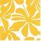 Twirly Yellow Floral Indoor/Outdoor Fabric by Premier Prints - Order a 30 Yard Bolt