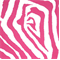 Zebra Preppy Pink Indoor/Outdoor Print by Premier Prints 30 Yard Bolt
