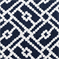 Pippa 21050-5 Blue Lattice Trellis Drapery Fabric by Duralee  - Order a Swatch