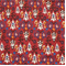 Neda Poppy Birch Cotton Drapery Fabric by Premier Prints 30 Yard bolt