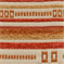 M9020 Stripes and Squares Nectar Woven Upholstery Fabric by Barrow Merrimac - Order a Swatch