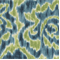 Jacklyn 601 Aqua Green Ikat Drapery Fabric by Duralee - Order a Swatch