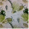 Corales 82 Green 02 Aquatic Design Cotton Drapery Fabric - Order a Swatch