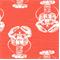 Lobster Salmon Slub Drapery Fabric by Premier Prints - Order a Swatch