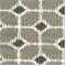 Sofie Steel Macon Cotton Drapery Fabric by Premier Prints 30 Yard bolt