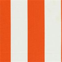 Deck Stripe Orange Indoor/Outdoor Fabric 30 Yard bolt