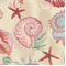 Sea Shells Tan Indoor/Outdoor Fabric - Order a Bolt