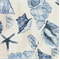 Sea Shells Porcelain Indoor/Outdoor Fabric  - Order a Swatch