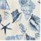 Sea Shells Porcelain Indoor/Outdoor Fabric  - Order a Bolt