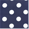 Polka Dots Royal/White Indoor/Outdoor Fabric - Order a Swatch