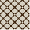 Floral Brown Contemporary Drapery Fabric by Famous Maker Swatch