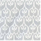 Scroll Grey Cotton Drapery Fabric - Order a Swatch