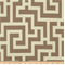 Road Block Taupe & Cream Contemporary Indoor/Outdoor Fabric - Order a Swatch