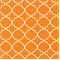 Tiles Orange Contemporary Indoor/Outdoor Fabric - Order a Swatch