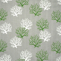 Isadella Coastal Green/Slub Cotton Slub Drapery Fabric By Premier Prints 30 Yard bolt