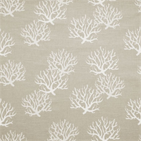 Isadella Grey/Natural Slub Cotton Slub Drapery Fabric By Premier Prints 30 Yard bolt