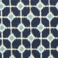 Sofie Premier Navy/Slub Cotton Drapery Fabric by Premier Prints 30 Yard bolt
