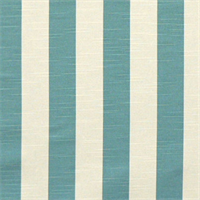 Stripe Coastal Blue/Slub Cotton Drapery Fabric By Premier Prints 30 Yard bolt