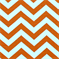 Zig Zag Tangelo/Slub Stripe Premier Print Drapery Fabric 30 Yard bolt