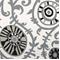 Suzani Vines Onyx/Natural Drapery Fabric by Premier Prints 30 Yard bolt