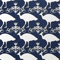 Peacock Premier Navy Slub Drapery Fabric by Premier Prints  30 Yard bolt