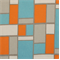 Hopscotch Mandarin/Natural Drapery Fabric by Premier Prints  - Order a Swatch