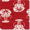 Lobster Timberwolf Red Macon Drapery Fabric by Premier Prints 30 Yard bolt