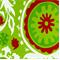 Suzani Chartreuse/Lipstick Cotton Drapery Fabric by Premier Prints 30 Yard bolt