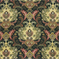 Lahore Dancer Onyx Cotton Floral Drapery Fabric by Swavelle Mill Creek - Order a Swatch