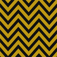 Zig Zag Black/Corn Yellow Stripe Premier Print Drapery Fabric  30 Yard bolt