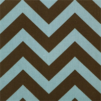Zig Zag Village/Natural Stripe Premier Print Drapery Fabric 30 Yard bolt