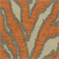 Katniss Tangerine Chenille Animal Design Upholstery Fabric by Swavelle Mill Creek - Order a Swatch