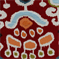 Adobe Ikat Bazaar Red Woven Upholstery Fabric - Order a Swatch