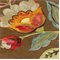Modern Poetic Flaxseed Floral Drapery Fabric by Waverly - Order a Swatch