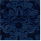 M9525 Prussian Blue Embossed Chenille Floral Upholstey Fabric by Barrow Merrimac - Order-a-swatch