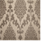 Paulina Silver Floral Ikat Chenille Embossed Woven Upholstery Fabric - Order-a-swatch