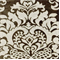 Elegance Taupe Woven Floral Upholstery Fabric - Order-a-swatch