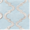 Infringement Sky Embroidered Drapery Fabric by Braemore  - Order-a-swatch