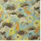 Lotus Lake Pool Chintz Floral Drapery Fabric by Waverly - Order-a-swatch