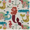 Dames at Sea Tropical Woven Embroidered Upholstery Fabric by Swavelle Mill Creek - Order-a-swatch