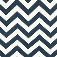 Zig Zag Navy/White Stripe Premier Print Drapery Fabric 30 Yard bolt