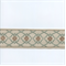 EA271/10 Turquoise Blue/Light Brown Tape Trim - Order-a-swatch