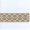 EA271/09 Brown/Khaki Tan Tape Trim - Order-a-swatch