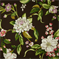 Collinson Graphite Floral Cotton Drapery Fabric - Order-a-swatch