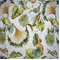Isola Coconut Floral Cotton Drapery Fabric  - Order-a-swatch