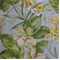 Paradise Point Coconut Cotton Floral Drapery Fabric  - Order a Swatch