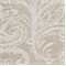 Kelso II Natural Chenille Embossed Floral Upholstery Fabric - Order a Swatch