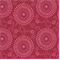 Esha Raspberry Pink Reversable Floral Upholstery Fabric - Order a Swatch